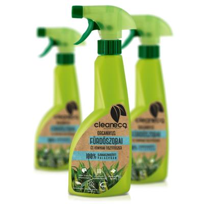 Cleaneco Háztartási Organikus Fürdőszobai és Konyhai Tisztítószer 0,5L - újrahasznosított csomagolásban
