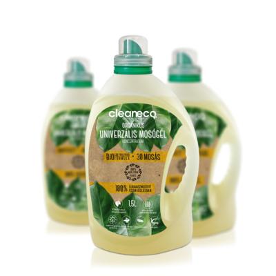 Cleaneco Háztartási Organikus Univerzális Mosógél Koncentrátum 1,5L - újrahasznosított csomagolásban