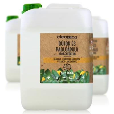 Cleaneco Ipari Bútor és Padlóápoló koncentrátum 5L - újrahasznosított csomagolásban