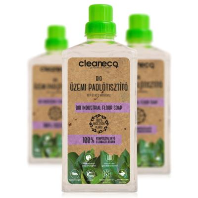 Cleaneco Ipari Bio Üzemi Padlótisztító 1L - komposztálható csomagolásban