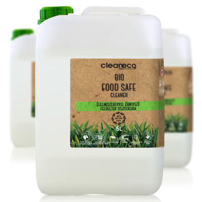 Cleaneco Ipari Bio Food Safe Cleaner 5L - újrahasznosított csomagolásban