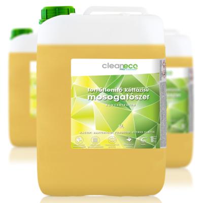 Cleaneco ipari fertőtlenítő kétfázisú mosogatószer 5l - újrahasznosított csomagolásban.