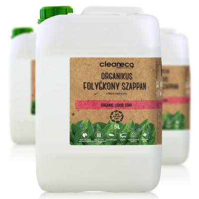 Cleaneco Ipari Organikus Folyékony Szappan 5L - újrahasznosított csomagolásban