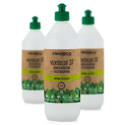 Cleaneco Vízkőoldó 37% koncentrátum, foszforsavval 1L - újrahasznosítható csomagolásban