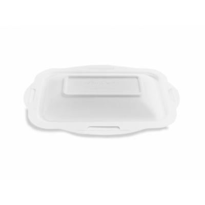 Elviteles doboz tető, 3,6-6,5 ml dobozaljhoz, lebomló cukornád, meleg ételhez , 600db