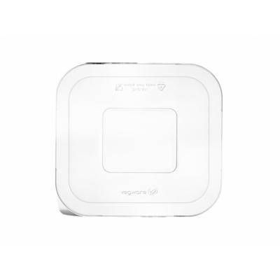 Elviteles doboz tető, 5,5 dl-1 l dobozaljhoz, lebomló PLA, hideg ételhez , 600db