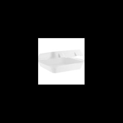 Elviteles doboz, három osztású, 23 cm, lebomló cukornád /121 Ft/db, 200 db
