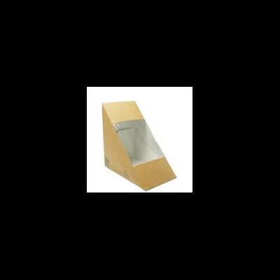 Háromszög szendvicsdoboz, lebomló, három szendvicshez 85mm  75 Ft/db, 500db