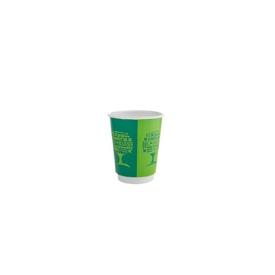Kávés pohár, 2,3 dl, dupla falú, lebomló, Green Tree | 67 Ft/db, 500db