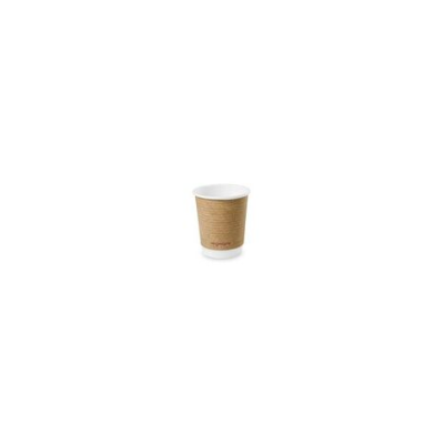 Kávés pohár, 2,3 dl, dupla falú, lebomló, barna | 67 Ft/db, 500db