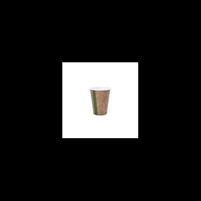 Kávés pohár, 2,3 dl, lebomló, barna   34 Ft/db, 1000db