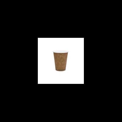 Kávés pohár, 2,8 dl, lebomló, barna   41 Ft/db, 1000db