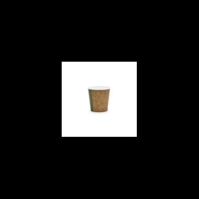 Kávés pohár, barna, 1,1 dl, lebomló, presszókávés | 23 Ft/db, 1000db