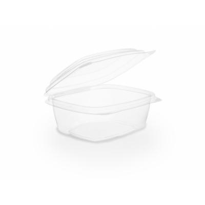 Lebomló ételtároló doboz, PLA, 2,3 dl, tetővel , 300db