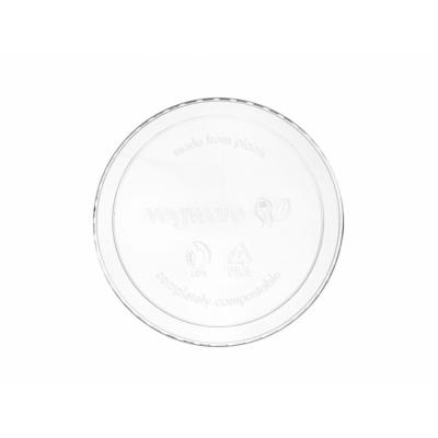 Lebomló doboztető, PLA, 2,3-9 dl dobozhoz, kerek , 500db