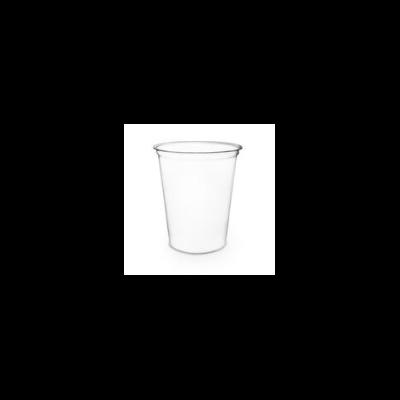 Lebomló ételtároló doboz, PLA, kerek 9 dl | 115 Ft/db, 500db