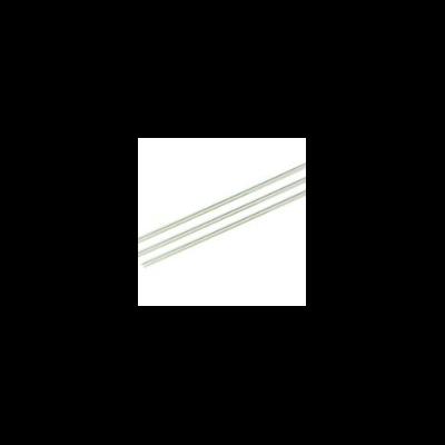 Lebomló szívószál PLA-ból, 7 mm, zöld csíkos, 4800 db | 11 Ft/db, 4800db