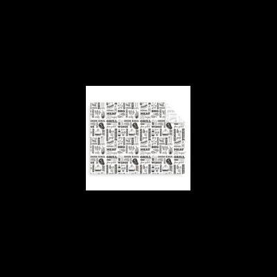 Lebomló zsírpapír, Grill | 1000 Ft/db, 1000db