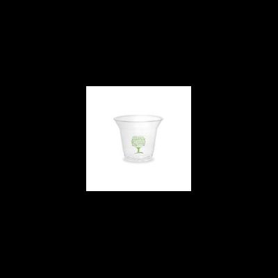 PLA pohár, standard, Green Tree, 2,5 dl, lebomló, hideg italokhoz | 45 Ft/db, 1000db