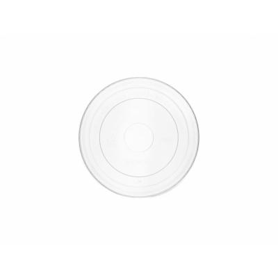 PLA-tető, 90 mm, lapos, 1,8-2,8 dl levestartókhoz hideg ételhez , 1000db