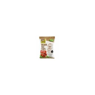 Rice Up Telj.kiőrl.barna rizs chips 60g ketchup ízű (GLM)