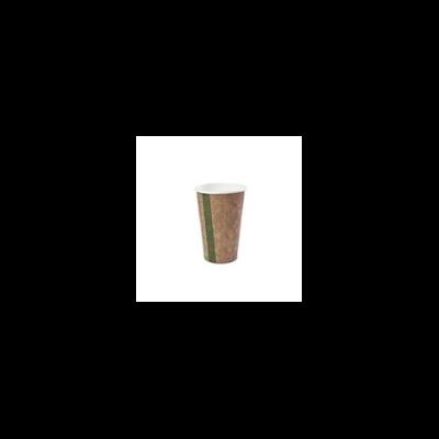 Teás pohár, 4,5 dl, lebomló, barna   47 Ft/db, 1000db