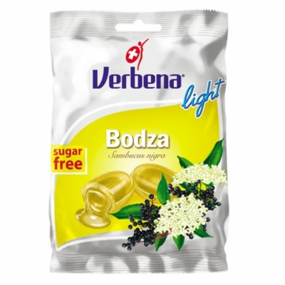 Verbena light cukor 60g bodza