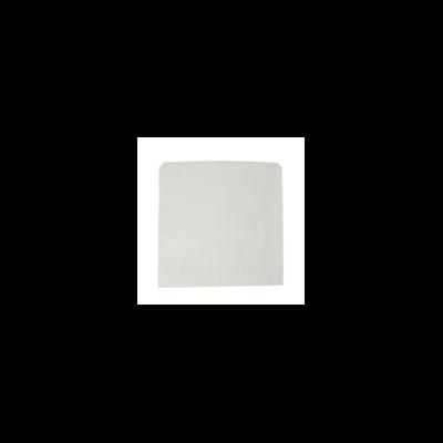 Zacskó, újrahasznosított, fehér | 10 Ft/db, 1000db