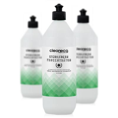 Cleaneco ipari Sterilfresh koncentrátum 1l -  újrahasznosítható csomagolásban