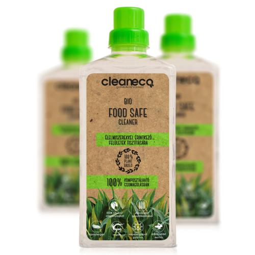 Cleaneco Bio Food Safe Cleaner 1L - komposztálható csomagolásban