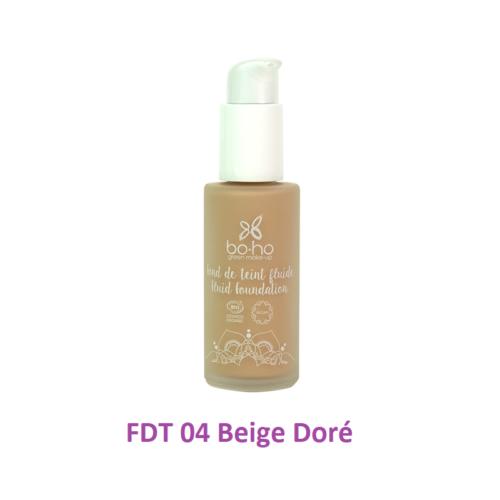 BoHo alapozó krém üvegben - FDT 04  - Beige Doré