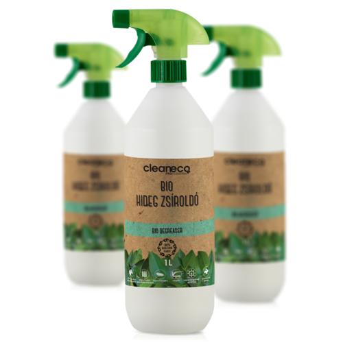 Cleaneco Ipari Bio Hideg Zsíroldó 1L - újrahasznosítható csomagolásban