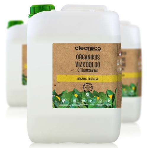 Cleaneco Organikus Vízkőoldó citromsavval 5L - újrahasznosított csomagolásban
