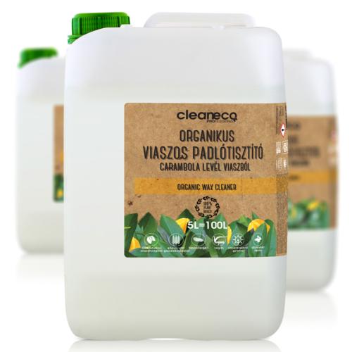 Cleaneco Viaszos padlótisztító organikus 5L - újrahasznosított csomagolásban