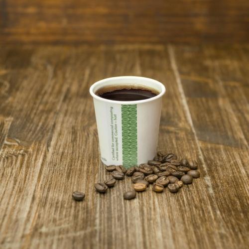 Kávés pohár, 1,1 dl, lebomló, presszókávés , 1000db