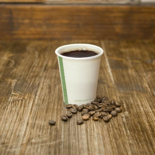 Kávés pohár, lebomló, 1,8 dl , 1000db