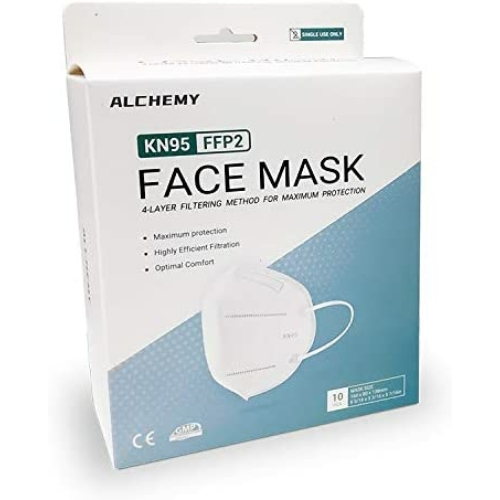 MASZK KN95 Arcvédő szájmaszk (Alchemy) - FFP2 (minimum rendelés 3 db)