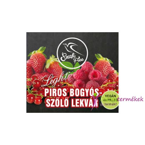 Szafi free piros bogyós-szőlő lekvár 350 g