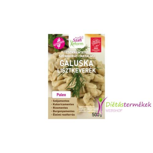 Szafi reform gluténmentes, csökkentett szénhidrát-tartalmú galuska és házi tészta lisztkeverék (paleo) 500 g
