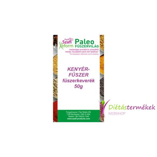 Szafi reform paleo kenyérfűszer fűszerkeverék (gluténmentes) 50 g