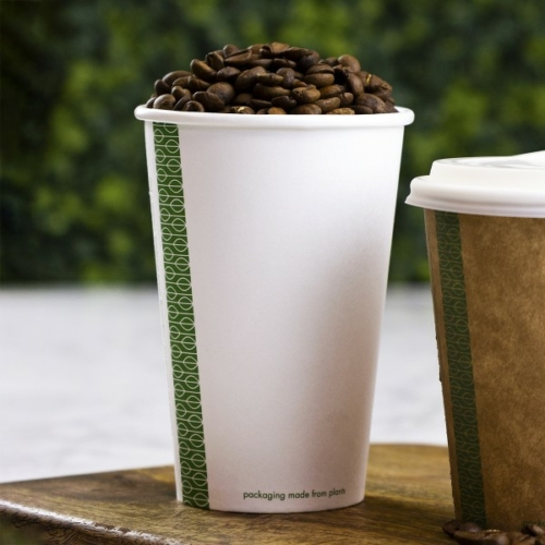 Teás pohár, lebomló, 4,5 dl , 1000db