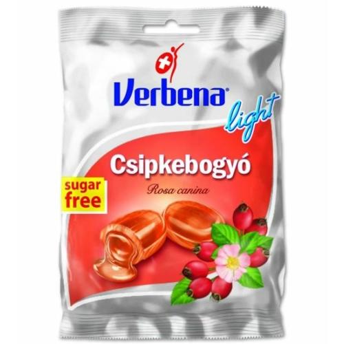 Verbena light cukor 60g csipkebogyó
