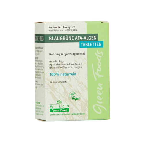 Kék-zöld AFA alga tabletta leveles 60db