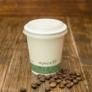 Kép 2/2 - 72 mm CPLA kávés pohártető (1,8 dl pohárhoz) , 1000db