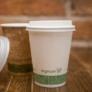 Kép 2/2 - 79 mm CPLA kávés pohártető (2,3 dl pohárhoz) , 1000db