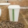 Kép 1/2 - Kávés pohár, 2,3 dl, lebomló , 1000db