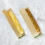 Kép 1/2 - Papír zacskó, PLA oldalablakos, lebomló , 1000db