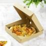 Kép 1/2 - Pizza doboz, 24*24 cm, lebomló , 100db