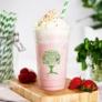 Kép 1/2 - PLA pohár, standard, Green Tree, 5,7 dl, lebomló, hideg italokhoz , 500db