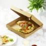 Kép 1/2 - Pizza doboz, 31,5*31,5 cm, lebomló , 100db
